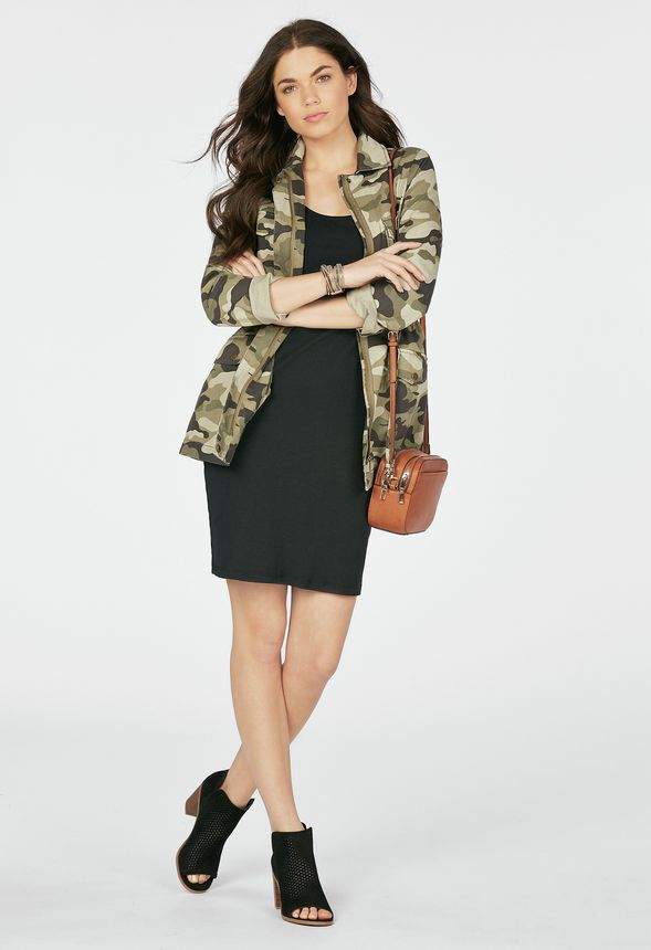 c5dd045fd5c Camo Jacket Clothing in CAMO PRINT - Get great deals at JustFab