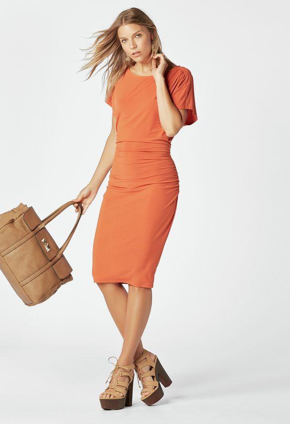 9e808b0175a7e Orange Pop Look in - günstig online kaufen im JustFab Shop Deutschland