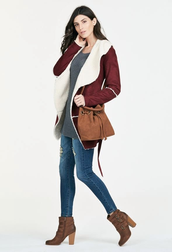 5243bc11b Coat Crushin Outfit Bundle in - Get great deals at JustFab