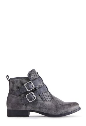 519872143ee Køb Flade Ankelstøvler billigt online | -75% VIP-rabat* | JustFab Shop