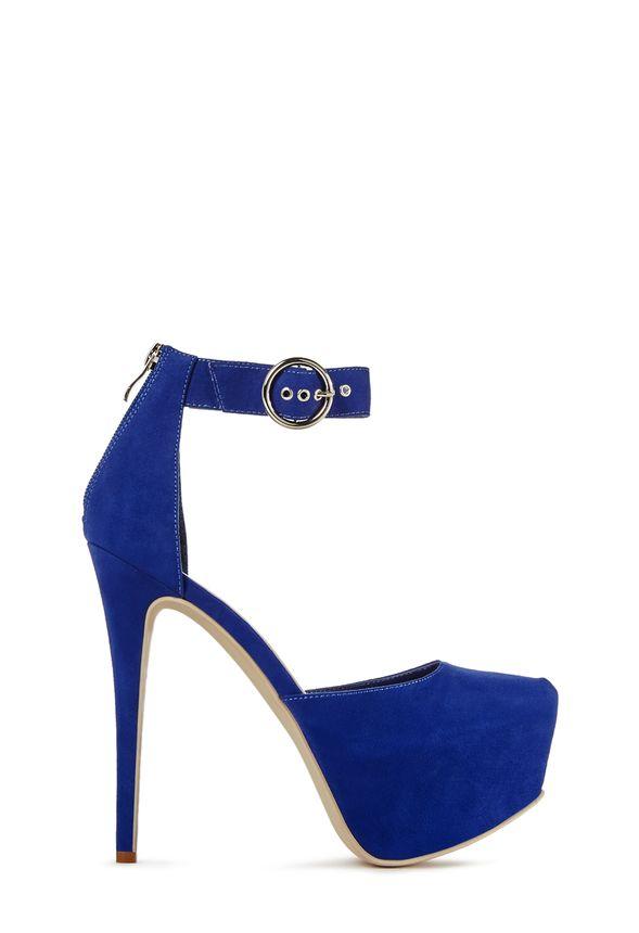 Jayda Chaussures gratuite Livraison sur en Bleu roi JustFab roBedCx