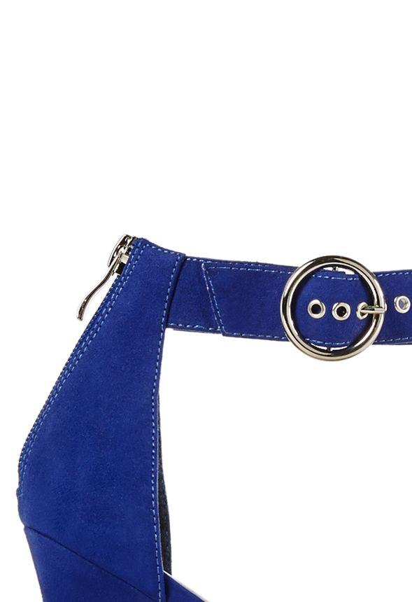 749f79d697ed02 Chaussures Jayda en Bleu roi - Livraison gratuite sur JustFab