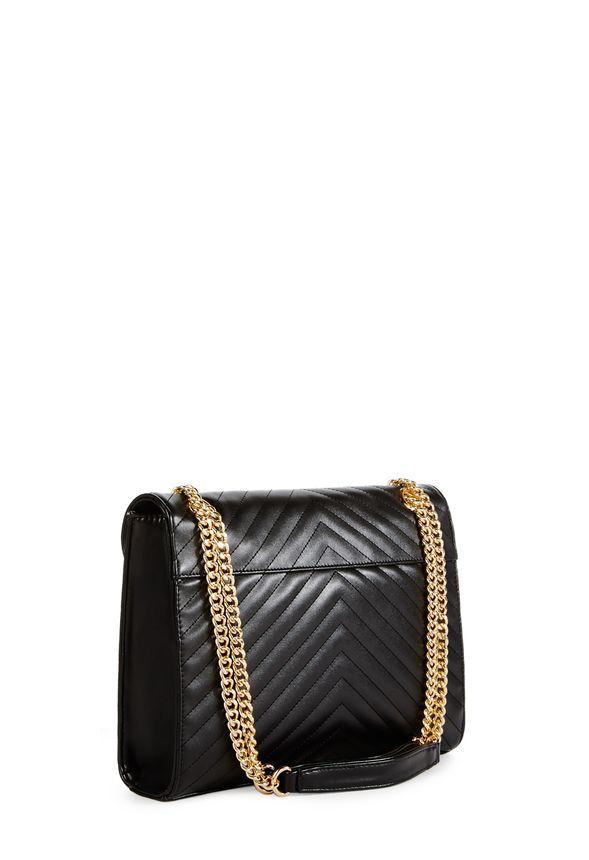 liam handtaschen in schwarz g nstig kaufen bei justfab. Black Bedroom Furniture Sets. Home Design Ideas