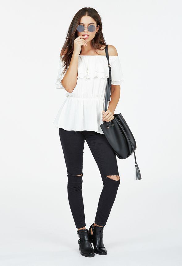 cf4c9dae9267c Tenue Black and White Beauty en - Livraison gratuite sur JustFab