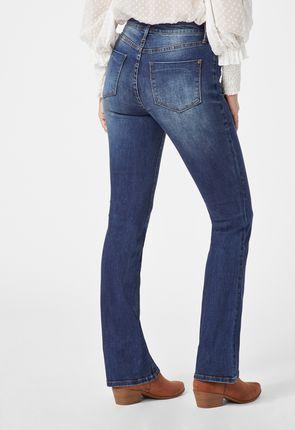 bootcut jeans g nstig online kaufen 75 vip rabatt justfab shop. Black Bedroom Furniture Sets. Home Design Ideas