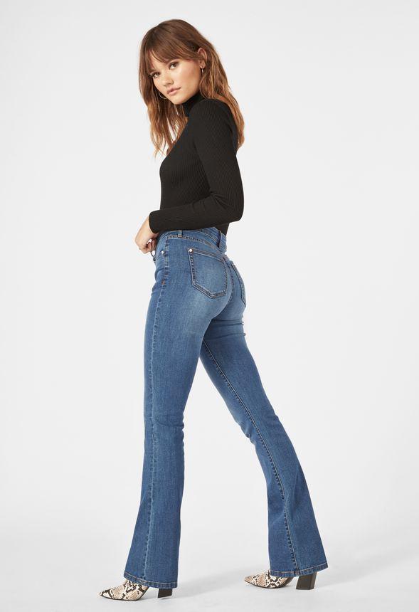 Mi Victoria Slim Taille Falls Jean Livraison En Vêtements Haute eH2EDW9IY