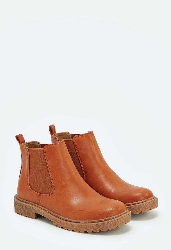 c51a710f18f5a Jira Schuhe in cognac - günstig online kaufen im JustFab Shop ...