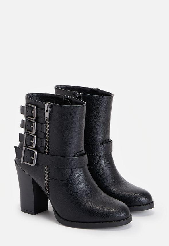 En Gratuito Zapatos Rosalia Envío Negro Justfab 0OkPwX8n