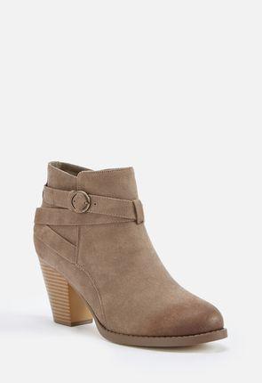 91569592d9b5 Freda Block Heel Ankle Boot ...
