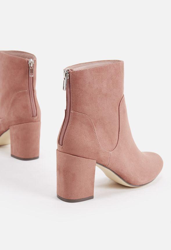 Chaussures Roxane Bootie en Rosa ancien - Livraison gratuite sur JustFab b8592dc20724