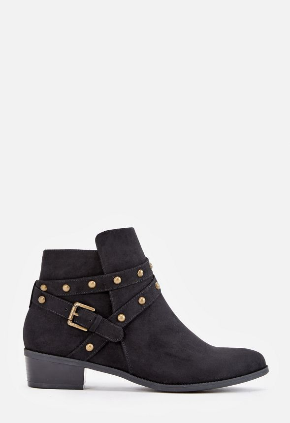 9511acb9414 Sko Violetta Ankle Boot i Sort - Shop fabelagtige deals hos JustFab