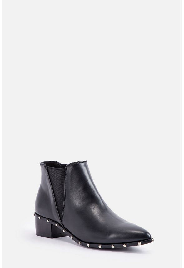 ab6f11c5949 Schelly Bootie Shoes in Black - Get great deals at JustFab