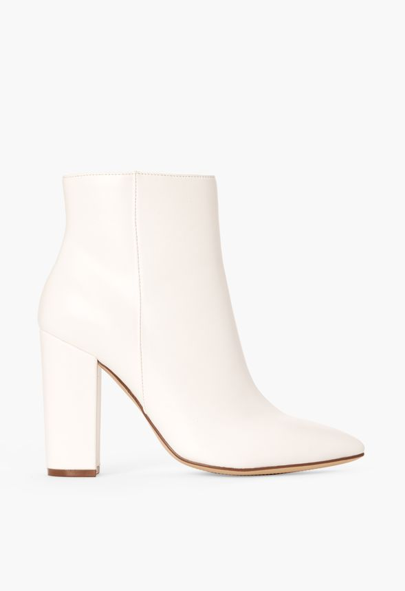 Rosamund Block Heel Ankle Boot Shoes in