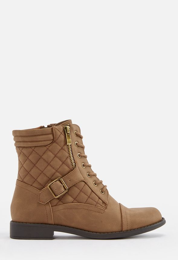 chaussures berah lace up boot en marron livraison gratuite sur justfab. Black Bedroom Furniture Sets. Home Design Ideas