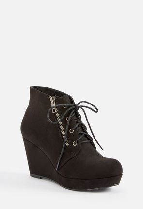 5b66b019169 Ofelia Wedge Lace-Up Ankle Boot ...
