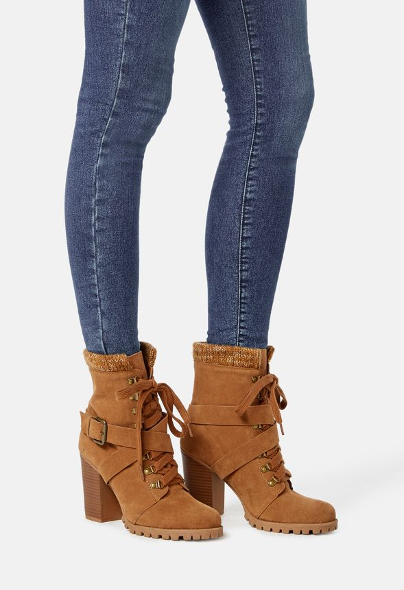 chaussures bottines bethany en camel livraison gratuite sur justfab. Black Bedroom Furniture Sets. Home Design Ideas