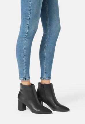 17df8e5083ea Serova Block Heel Ankle Boot Serova Block Heel Ankle Boot