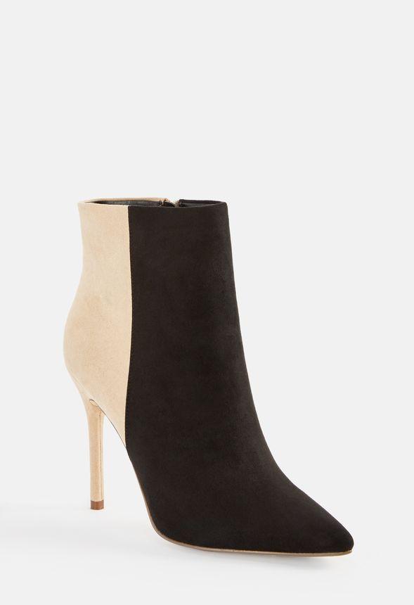 more photos 9d1c1 2d1ae Natima Stiefelette mit Stiletto-Absatz Schuhe in Black/Nude ...