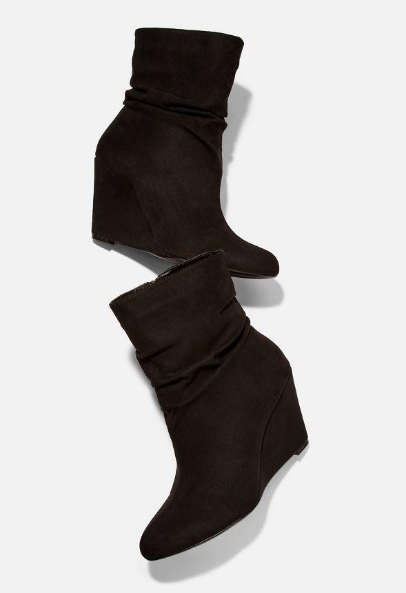 Noir Chaussures Saundra Bottines compensées Livraison en g7Yyf6b