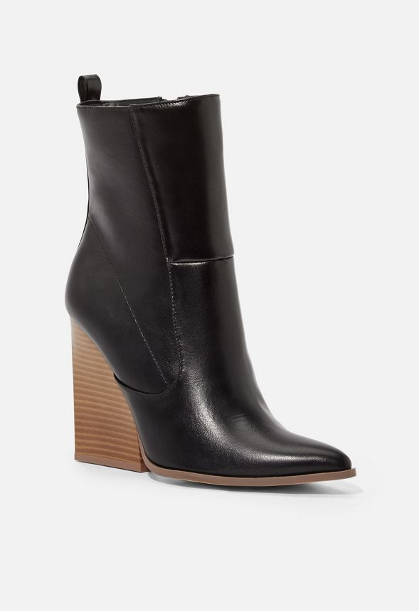 Chaussures Bottines Meyers avec coutures contrastantes en