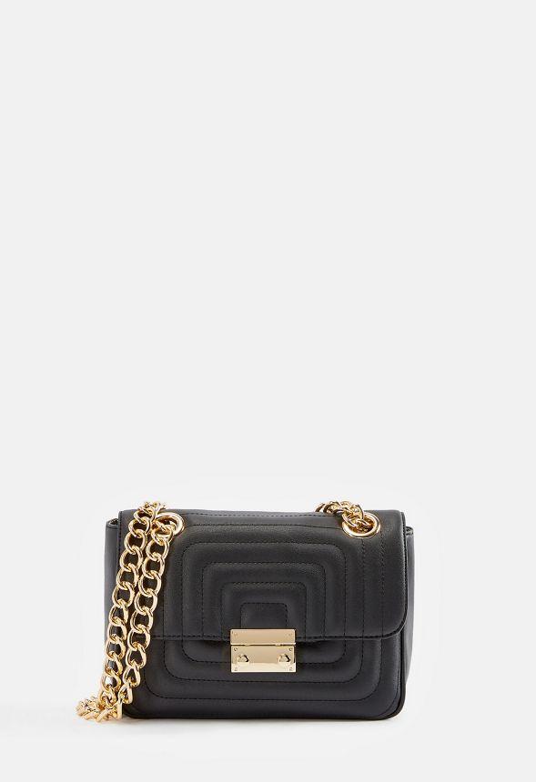 242c0d24fa778 So Posh Crossbody Bag Handtaschen in Schwarz - günstig online kaufen im  JustFab Shop Deutschland