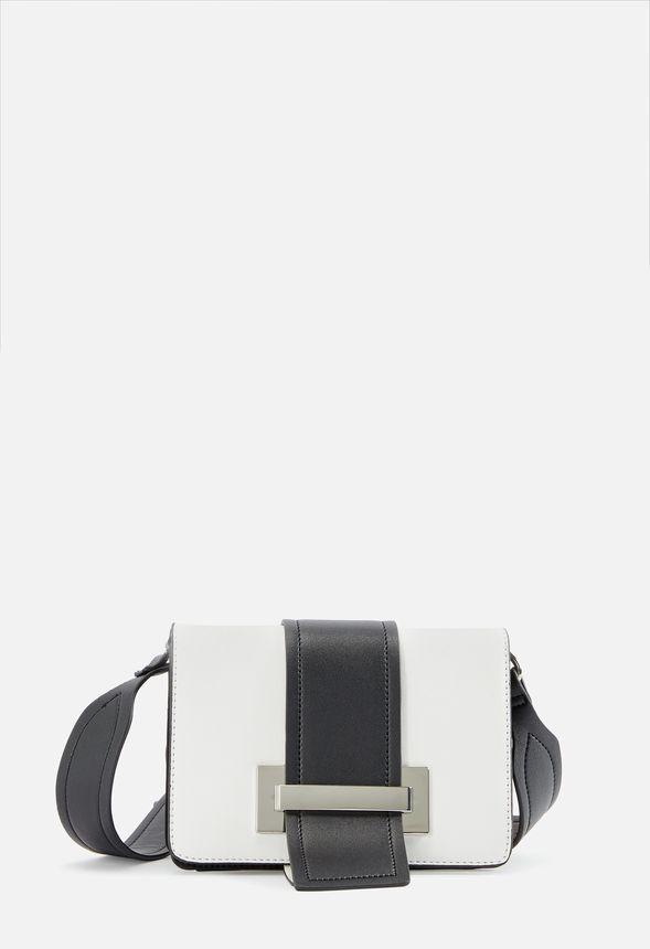d19fb4311b Sacs Sac bandoulière Style Game en Noir/Blanc - Livraison gratuite sur  JustFab