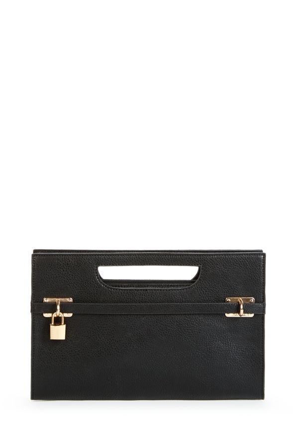 oscar handtaschen in schwarz g nstig kaufen bei justfab. Black Bedroom Furniture Sets. Home Design Ideas