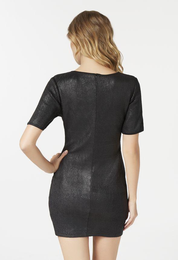 Bodycon Mini Kleidung in Schwarz - günstig kaufen bei JustFab