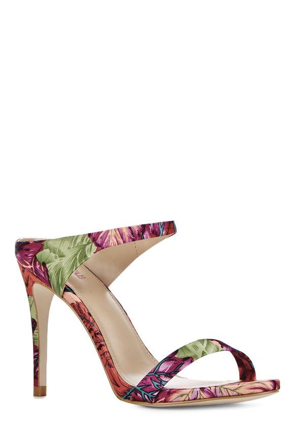 Envío Louisa Gratuito Justfab Print En Zapatos Floral cAL3j5R4q