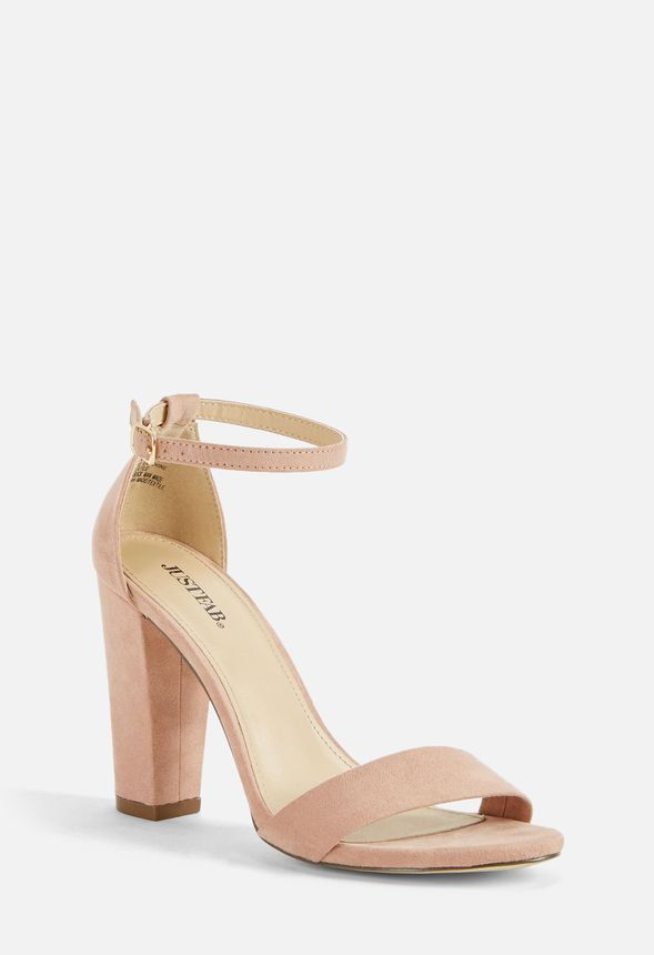 ce99a7f8ace MAKEMBA HEELED SANDAL Shoes in Blush - Get great deals at JustFab