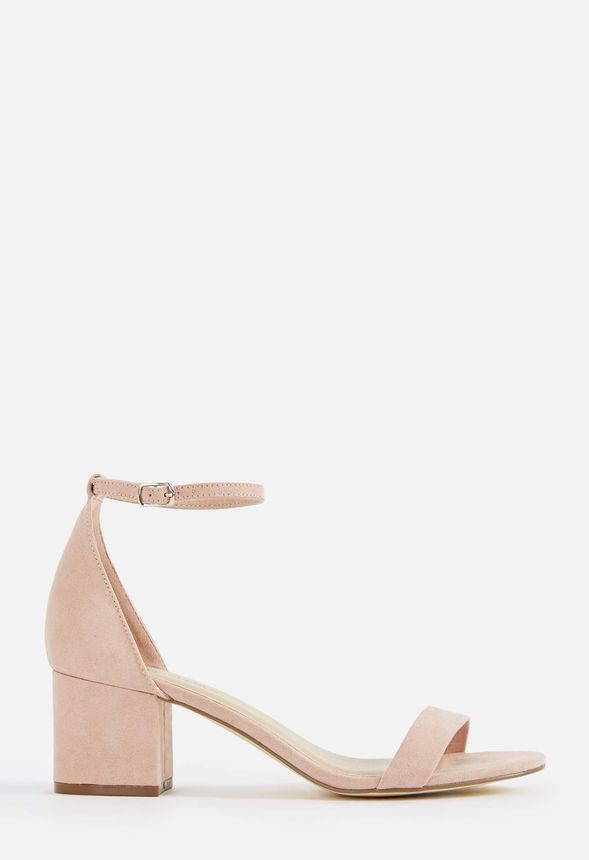 436dd185f46 Sanoura Heeled Sandal Shoes in Blush - Get great deals at JustFab