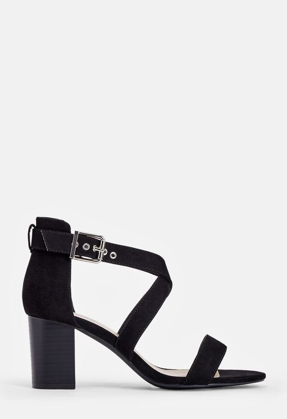 f8ac9011b Arabella Heeled Sandal Shoes in Black - Get great deals at JustFab