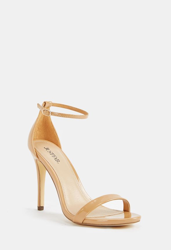 ea6542ce048 Rosey Heeled Sandal Shoes in Nude - Get great deals at JustFab