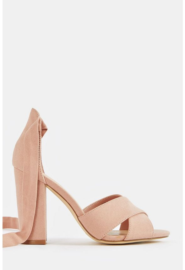 4f8d2c8e46c Rozalia Heeled Sandal Shoes in Blush - Get great deals at JustFab