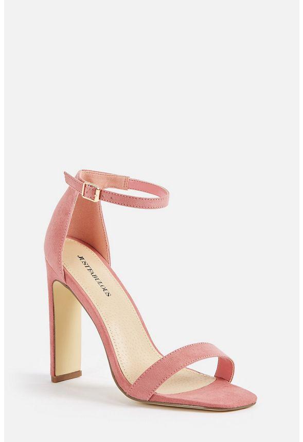 Seleste Heeled Sandal Shoes in PINK