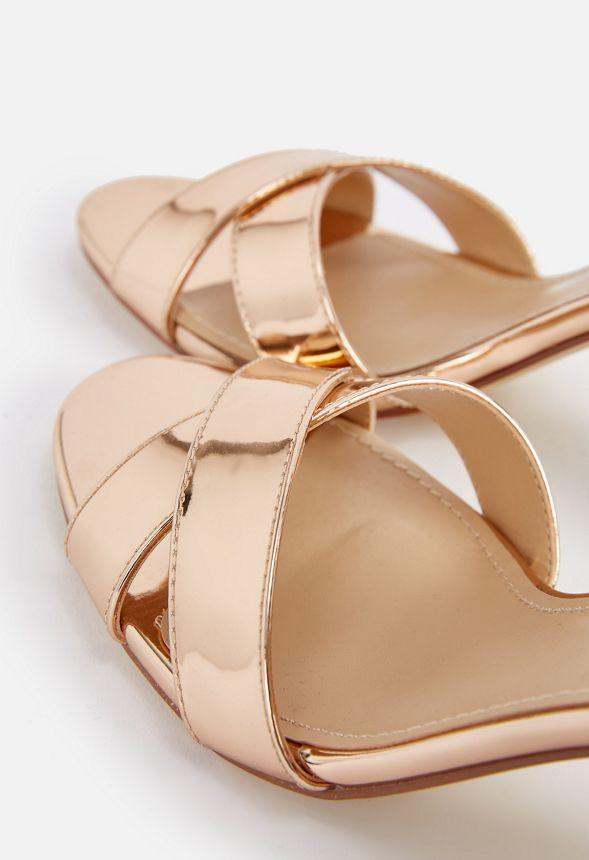 Sandal Multi En Envío Kasia Heeled Zapatos Gratuito Metallic IH2DYWE9