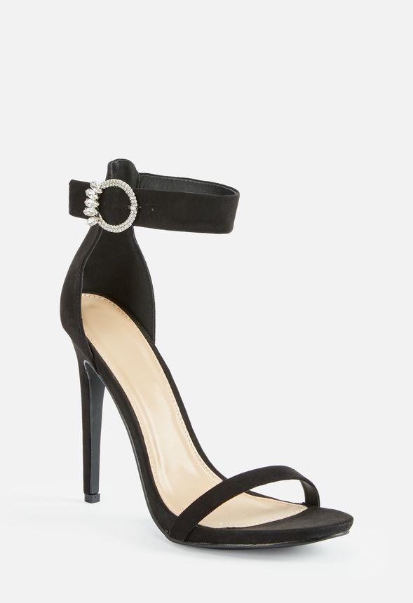 Skor Pasadena Högklackade sandaler i Svart Fantastiska