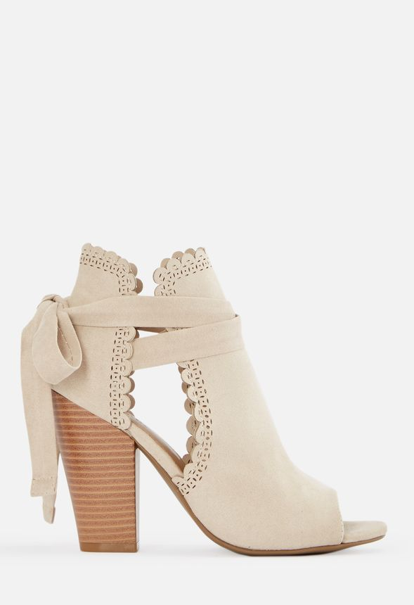 Open Toe Ankle Tie Heeled Sandal Shoes