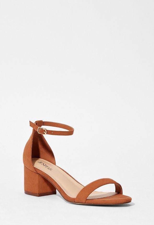 reputable site 85cbf 43140 Noura Sandalen mit Absatz Schuhe in Cognac - günstig online ...
