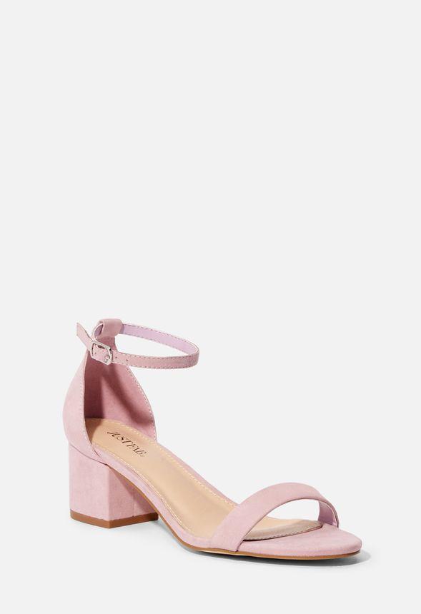 Sandalias Lila Zapatos Noura Envío En Gratuito De Tacón Justfab W9EHIeD2Yb