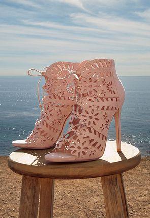 68910a0da94 Køb Peeptoe-ankelstøvler billigt online | -75% VIP-rabat* | JustFab Shop