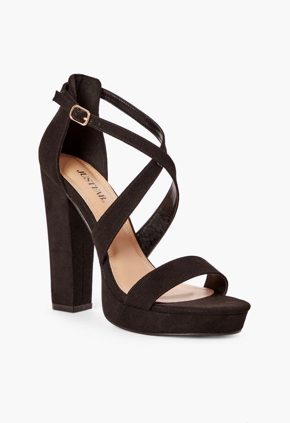 b211db96730 Chaussures Sandales à talons Natalia en Noir - Livraison gratuite ...