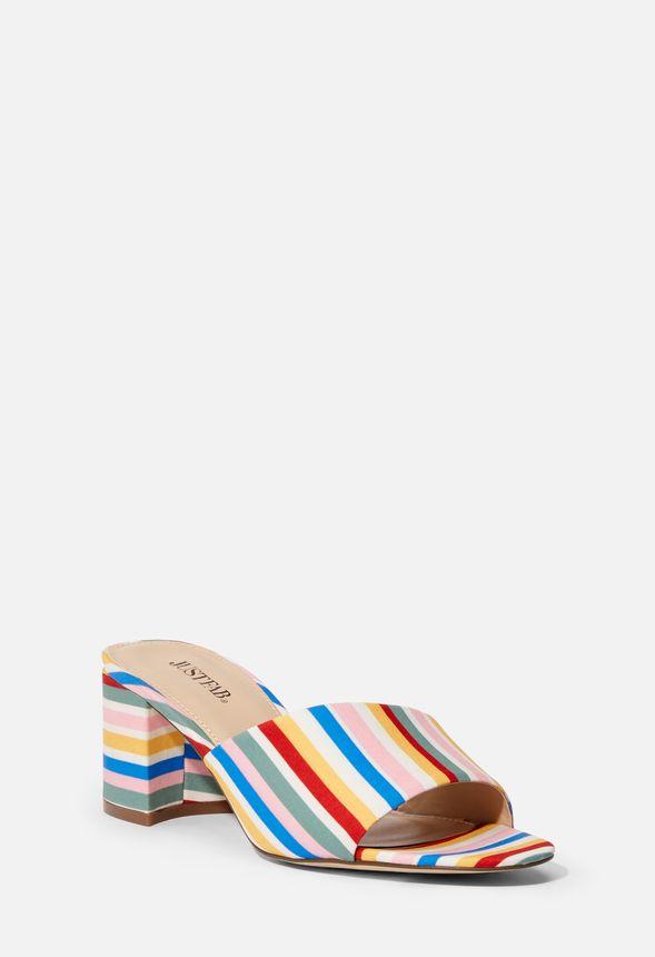 online store 13b96 5a54a Come & Go Mule Schuhe in RAINBOW STRIPE - günstig online ...