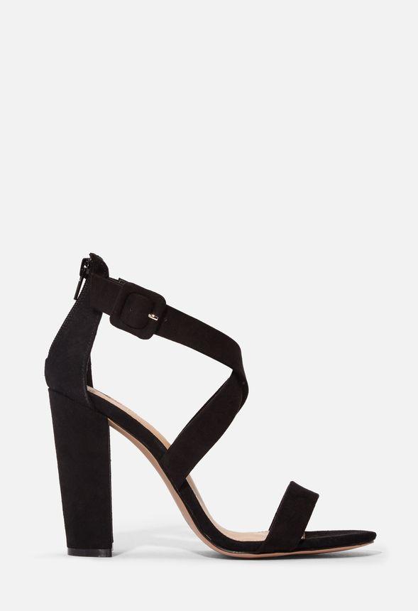 Skor Jennifer sandaletter med blockklack i Svart