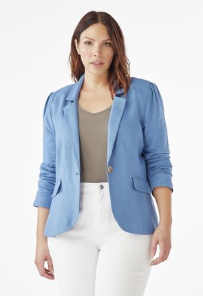 67740e43960 Plus size jackets for women