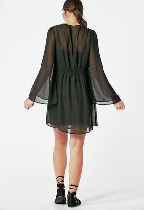 bfcaf308f8fc Bell Sleeve Dress Bell Sleeve Dress