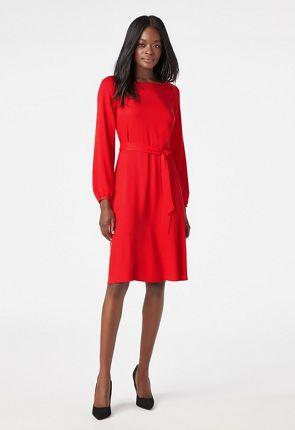 29a166eb3fb40 Blouson Sleeve Dress ...