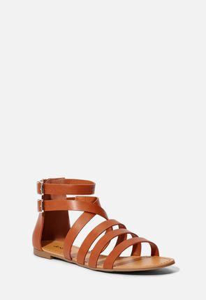 c8a5a73b6bf7 Dhanya Faux Leather Sandal ...