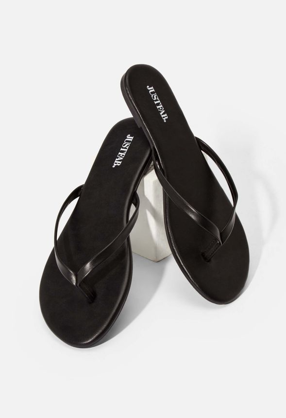 low priced 07421 6311e Shanley Flip-Flops Schuhe in Matte Black - günstig online ...
