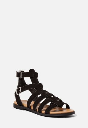 9378217579e0 All Strapped In Flat Sandal ...